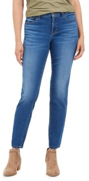 Style&Co. Style & Co Petite Curvy-Fit Tummy-Control Skinny Jeans, in Petite & Petite Short, Created for Macy's