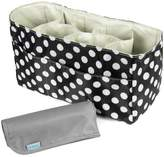 KF Baby Diaper Bag Insert Organizer (14 x 6.4 x 8 inch, ) + Diaper Changing Pad Value Combo