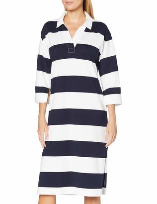 Gant Women's D1. Feminine Striped Rugger Dress