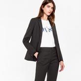 Paul Smith Women's Black Wool-Mohair Blazer