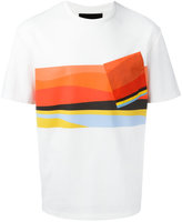 Plac abstract print T-shirt - men - Cotton - S