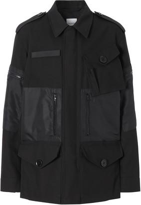 Burberry gabardine field jacket