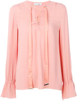 Altuzarra drawstring blouse - women - Silk/Acetate - 36