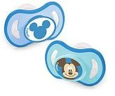 Born Free BPA Free Disney Orthodontic Pacifier with Nipple Cover - Mickey - 6+ Month