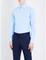 Canali Checked Cotton Shirt