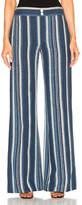 Chloé Striped Canvas Trousers