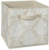 ClosetMaid 1841 Cubeicals Fabric Drawer, Natural Damask Print