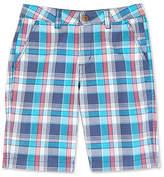 Nautica Little Boys' Blue Plaid Short (2T-7)