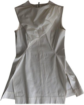 Rick Owens Lilies White Cotton Top for Women
