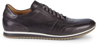 Magnanni Leather Low-Top Sneakers