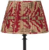 OKA 30cm Pleated Madura Silk Empire Lampshade