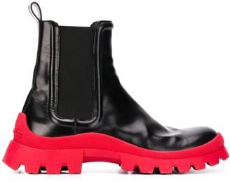 DSQUARED2 Colour-Block Ankle Boots