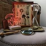 Kizmah Holistic Color LED Night Light Lamp. Ionize, Aromatherapy, and Custom Art for your Home