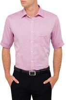 Van Heusen Short Sleeve Nailhead Shirt