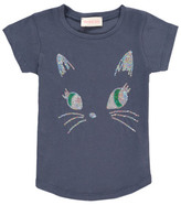 Simple Sale - Puss Sequin T-Shirt