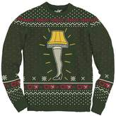 Ripple Junction A Christmas Story Leg Lamp Pattern Adult Knit Sweater
