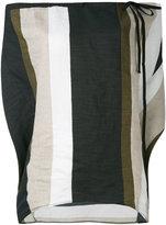 Reality Studio Oki blouse - women - Linen/Flax/Polyamide/Viscose - S