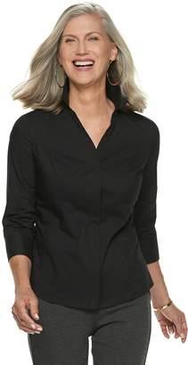 Dana Buchman Women's Princess Seam Shirt