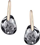 Swarovski Oblong Crystal Drop Earrings