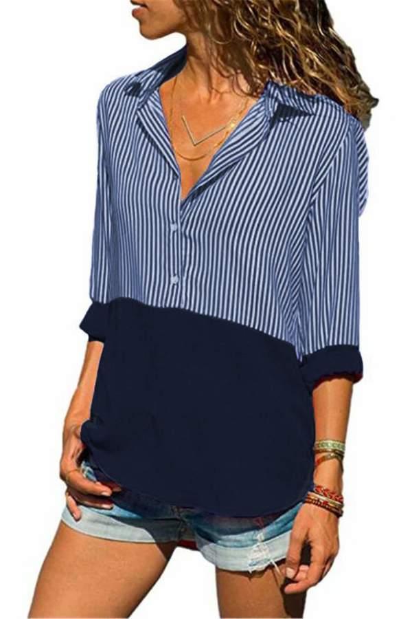 ed41e954b1 Ladies Stripe Blouse - ShopStyle Canada