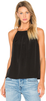 Tibi Shirred Halter Cami