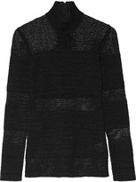 Proenza Schouler Open-knit turtleneck sweater