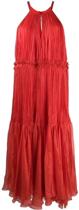 Maria Lucia Hohan Sleeveless Maxi Dress