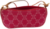 Celine Pink Cloth Handbag