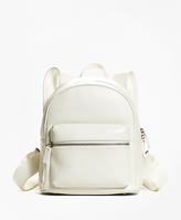 Brooks Brothers Pebbled Leather Backpack