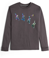 The North Face Long-Sleeve Reaxion Snowboarder Tee, Dark Gray, Size XXS-XL