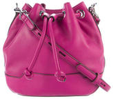 Rebecca Minkoff Leather Bucket Crossbody Bag