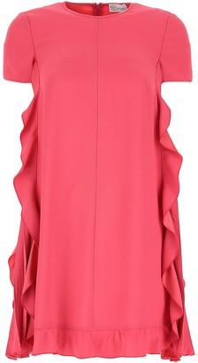 RED Valentino Ruffled Sides Dress