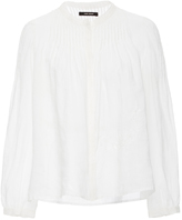 Isabel Marant Rieti Blouse with Embroidered Detailing