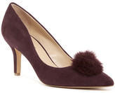 Charles by Charles David Sadie Genuine Rabbit Fur Pump