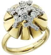 Miseno - Vesuvio 18k Gold/Diamond Ring Ring