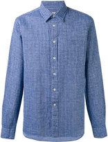 Bellerose printed shirt - men - Cotton/Linen/Flax - S