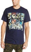 Nickelodeon Teenage Mutant Ninja Turtles Men's 4-Panels Ninja Turtles 2014 Movie T-Shirt