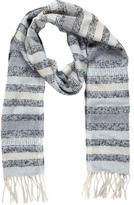 Rag & Bone Wool Pattern Scarf