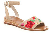 Kenneth Cole New York Jory 3 Floral Embroidered Sandals
