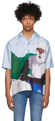 Études Multicolor Henry Taylor Edition Silk Valley Horse Short Sleeve Shirt