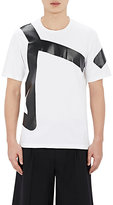 Wooyoungmi MEN'S GEOMETRIC-PRINT T-SHIRT