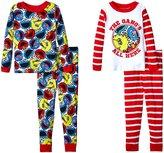 Sesame Street Seasame Street 4 Piece Set (Toddler) - Multicolor - 3T