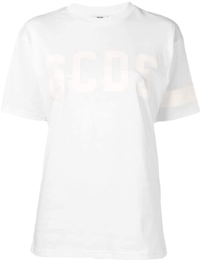 GCDS tonal logo print T-shirt