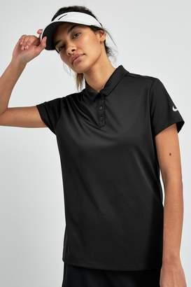 Nike Womens Dry Golf Polo - Black