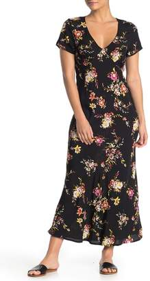 Obey Sonoma Floral Maxi Dress