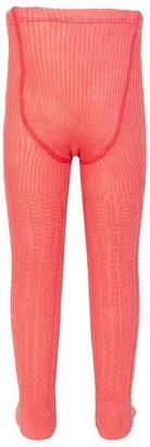 Kite Cable rib pink tights