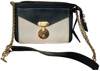 Celine Navy Leather Handbags