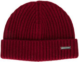 DSQUARED2 ribbed knitted hat