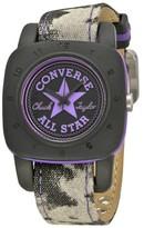 Converse Black Dial Purple Canvas Unisex Watch VR-029-047