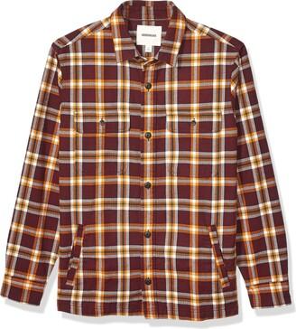 Goodthreads Men's Heavyweight Flannel Shirt Jacket Shirt